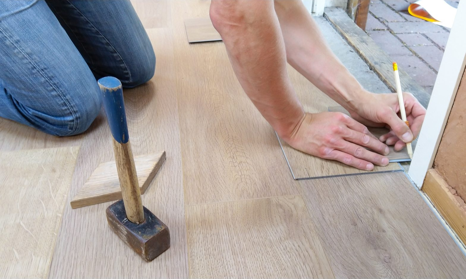 Enduring Collections - Laying Flooring